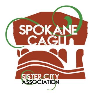 Spokane-Cagli Sister City Logo
